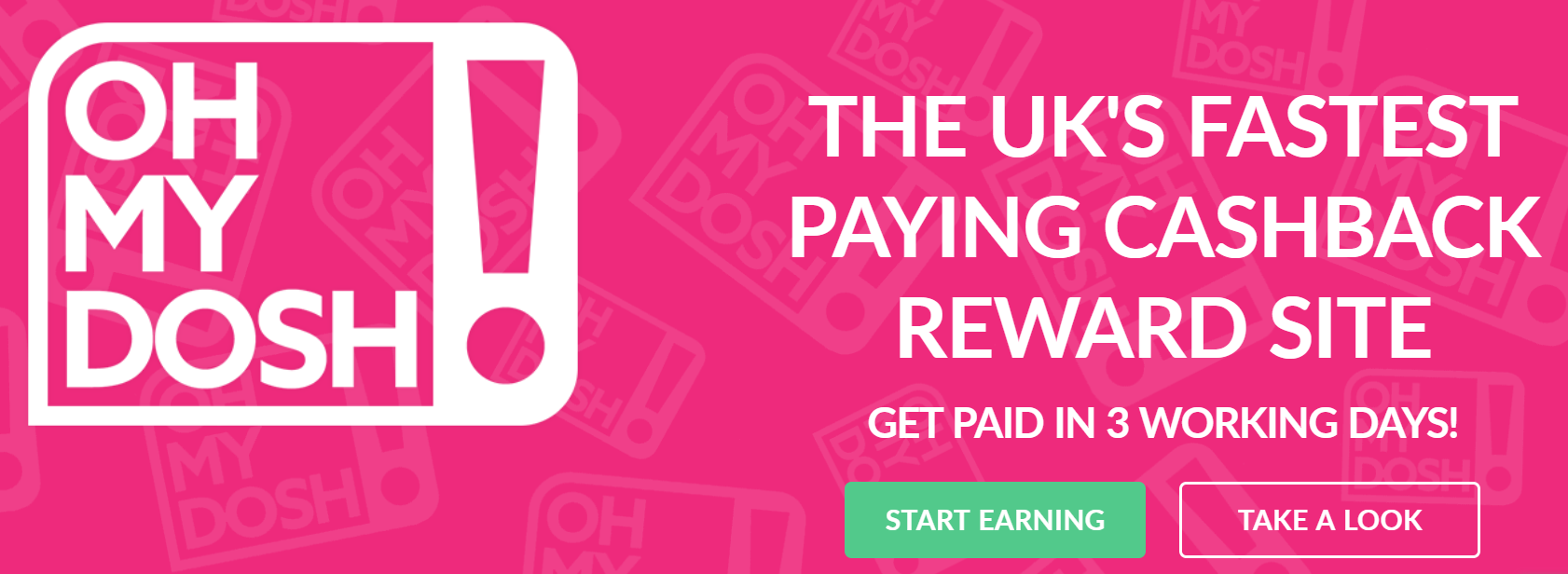 £1 FREE From OhMyDosh