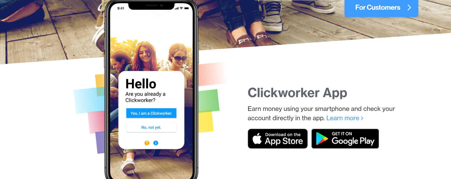 Earn Money Online With Clickworker