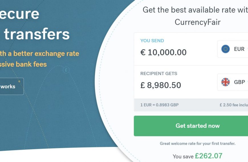 €50 (£45) FREE With CurrencyFair