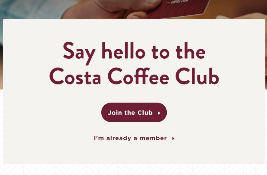 £3 Free With Costa
