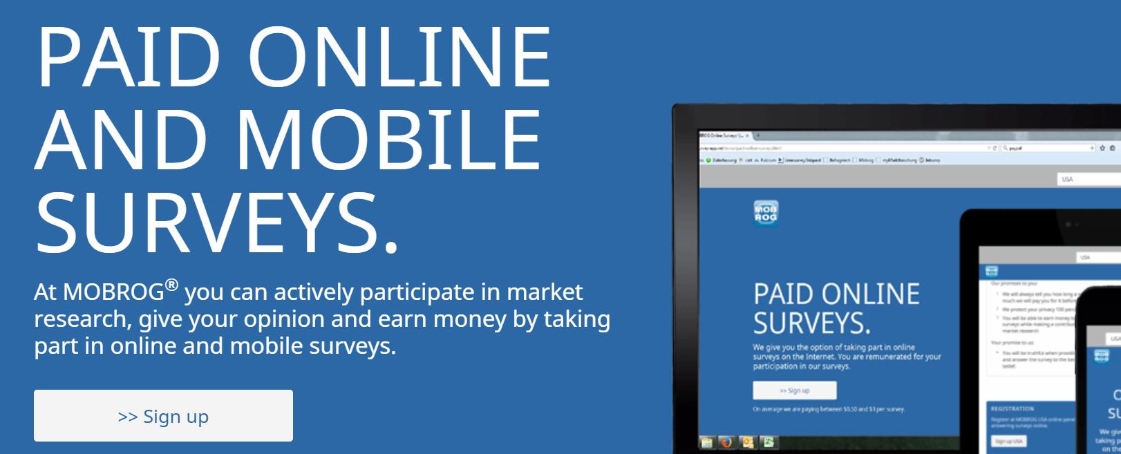 Earn Money Online With Mobrog