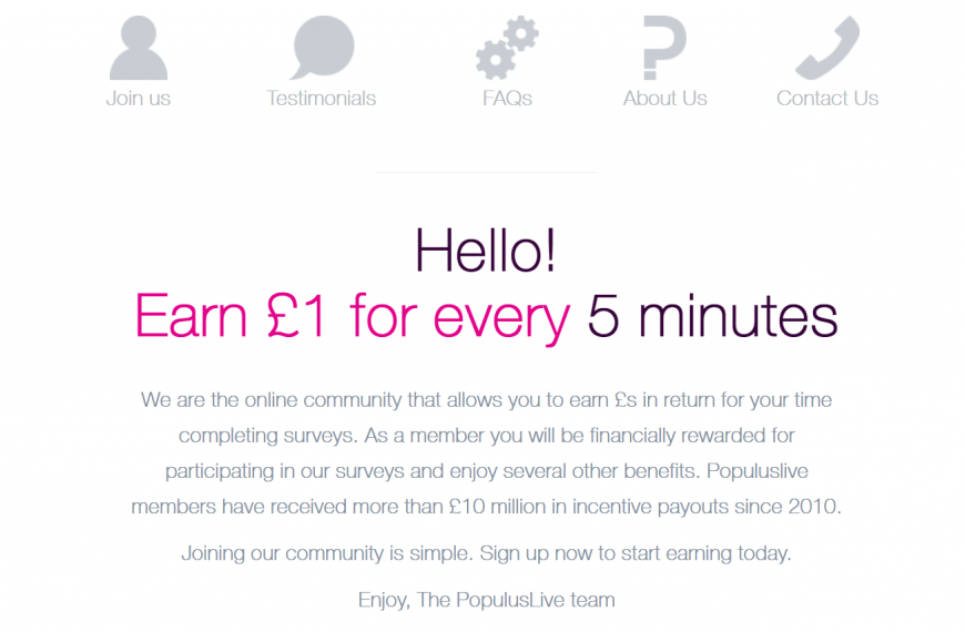 Earn Money Online With Populuslive